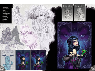 The Art of Dark Tales <br>