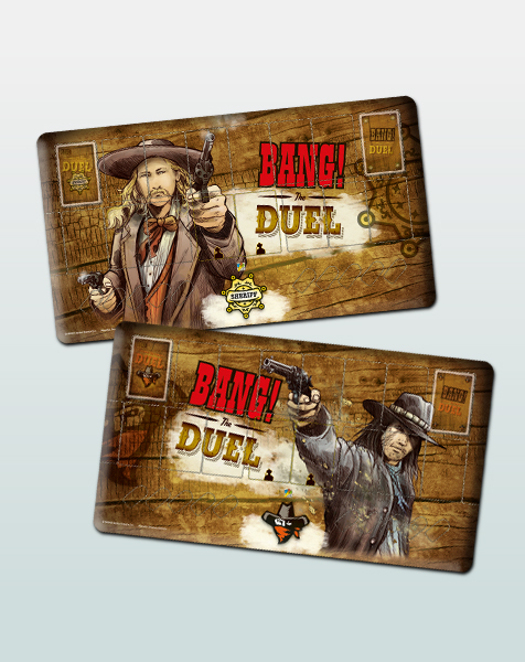BANG! The Duel: Player Mats
