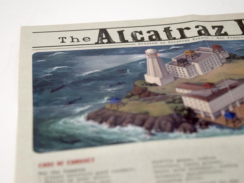 Deckscape - Escape from Alcatraz