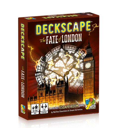 Deckscape:The Fate of London -  Davinci Games