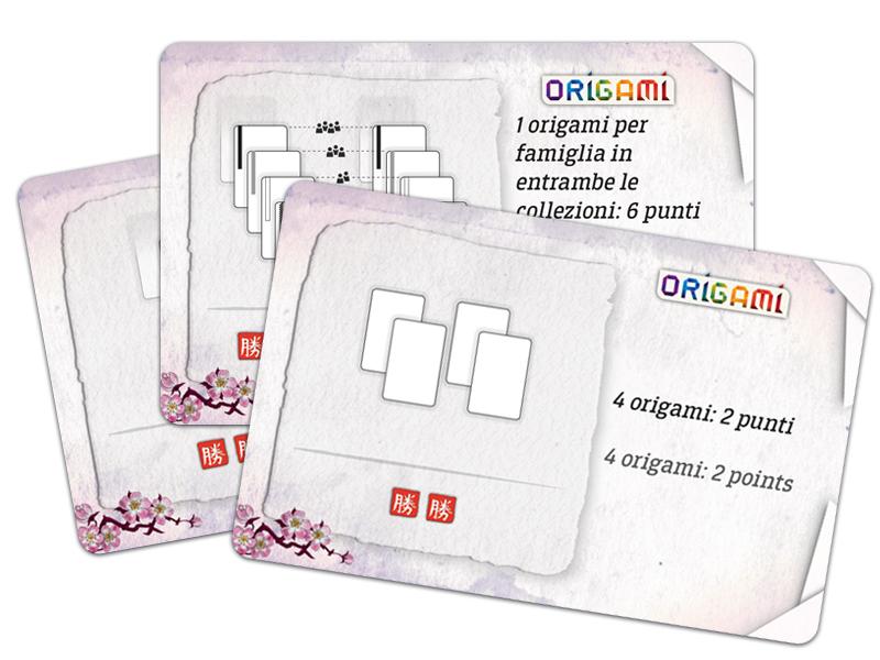 Origami - Mazzo obiettivi