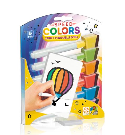 Speed Colors - Carte e pennarelli extra