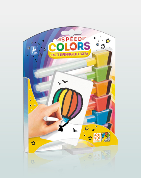 Speed Colors - Carte e pennarelli extra