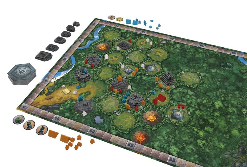 Tikal dv giochi giochi di carte giochi di societ - Miglior gioco da tavolo ...