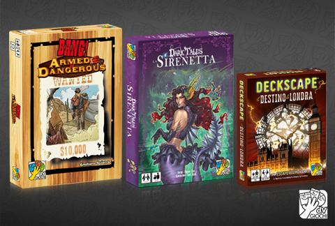 BANG!, Dark Tales e Deckscape