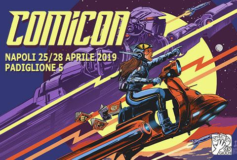 dV Giochi a Comicon 2019