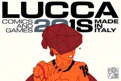 dV Giochi a Lucca Comics & Games 2018