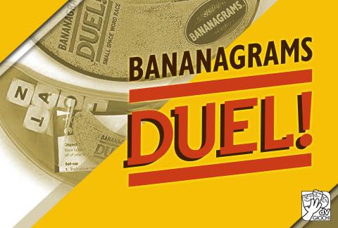 Bananagrams Duel: crea parole con i dadi!
