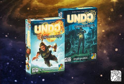 Due nuove missioni della serie Undo